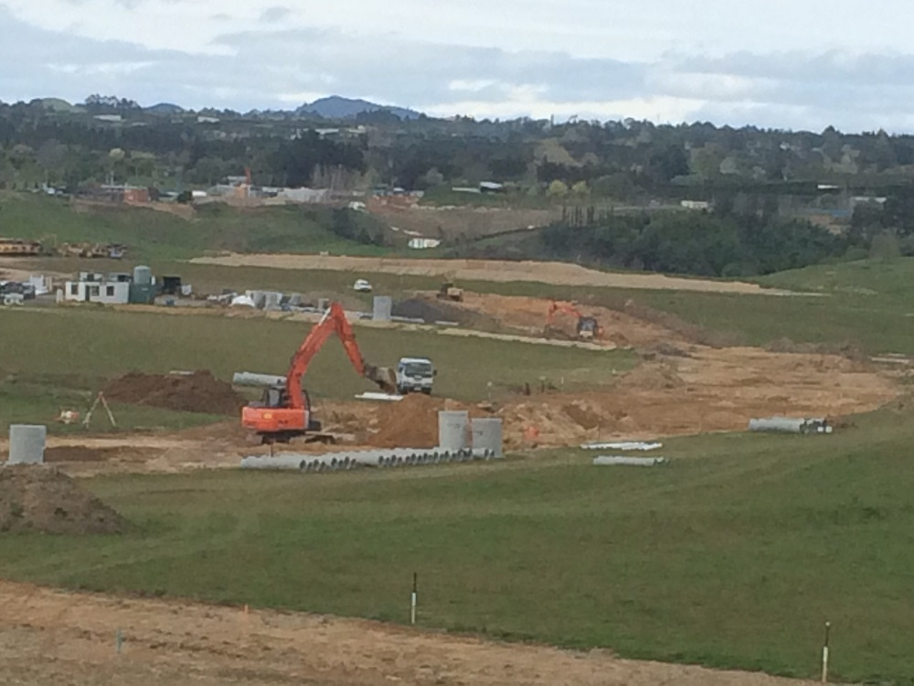 Summit Earthworks, Sept 2014