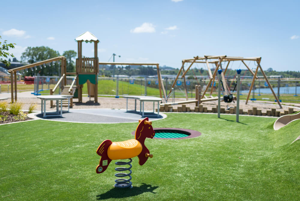 The Lakes Shopping Village Playground Rocking Horse