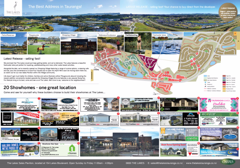 The Lakes Tauranga Show Home Trail